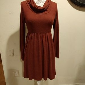 Fervour ModCloth Cowl Neck Dress